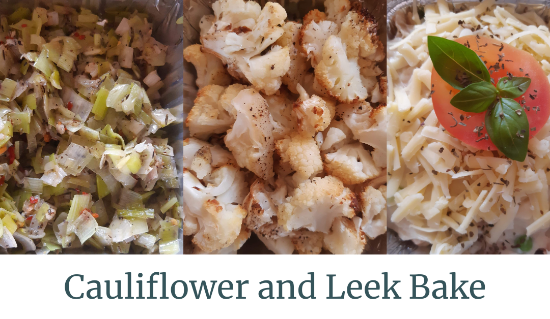 Cauliflower and Leek Bake
